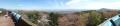 6 明神山展望デッキからの景色 パノラマ写真