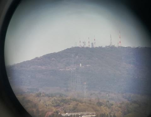 7 生駒山のテレビ塔の遠望