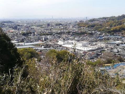 14 縦走路から大阪・高井田方面