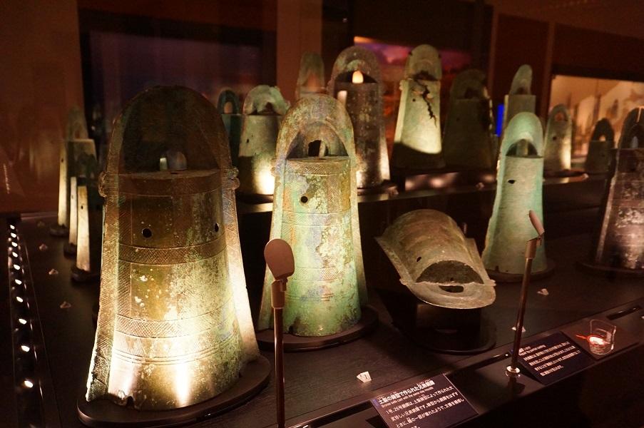 04 古代出雲歴史博物館 銅鐸群