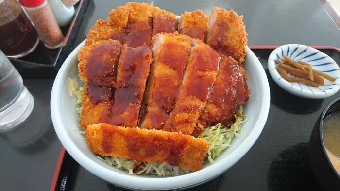 ソースカツ丼ダブル