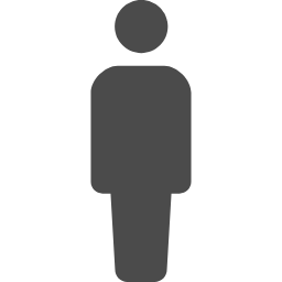 シンプルな人のピクトグラム