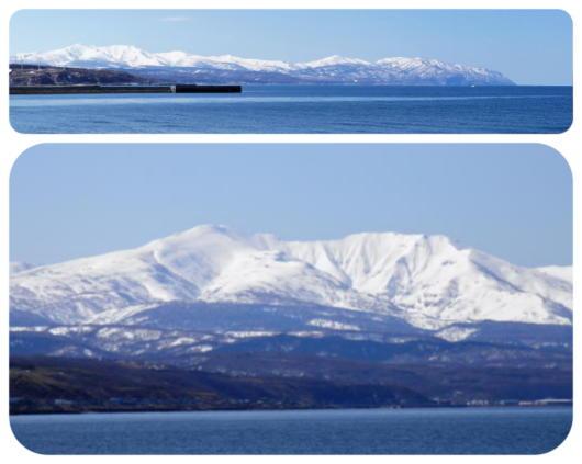 春の海と暑寒岳1(1)