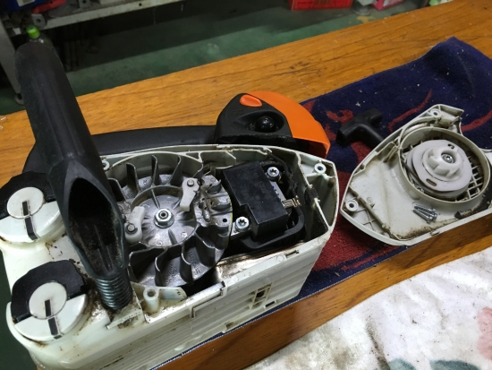 チェンソー修理 001