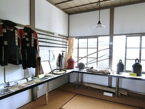 警察資料館・1F展示室