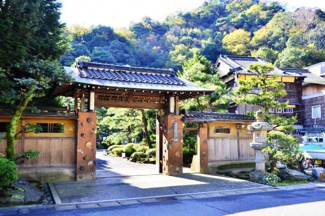 島崎藤村の投宿したゆとうや旅館