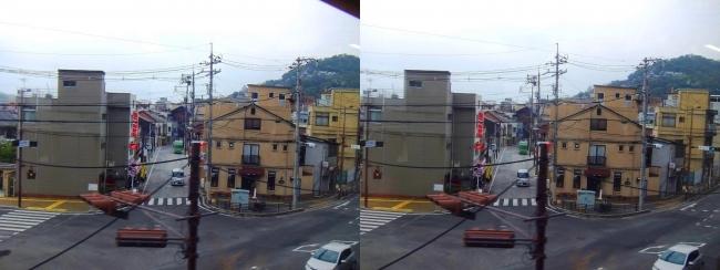 JR山陽本線からの尾道の景観 2019.3.23③(交差法)