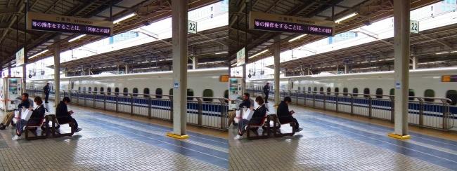 JR新大阪駅 2019.3.23(交差法)