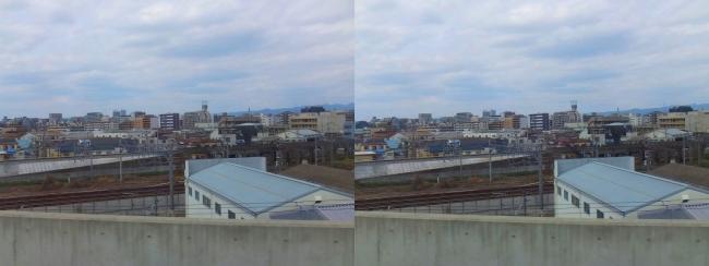 おおさか東線 車窓景観2019.3.23(平行法)