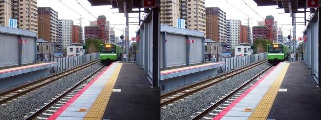 JR野江駅 2019.3.23②(平行法)