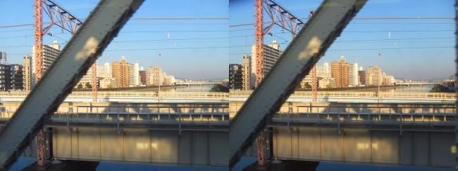 おおさか東線 車窓景観2019.3.18④(交差法)