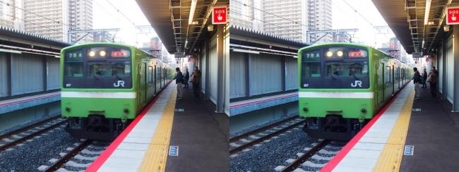 JR野江駅 2019.3.18③(平行法)