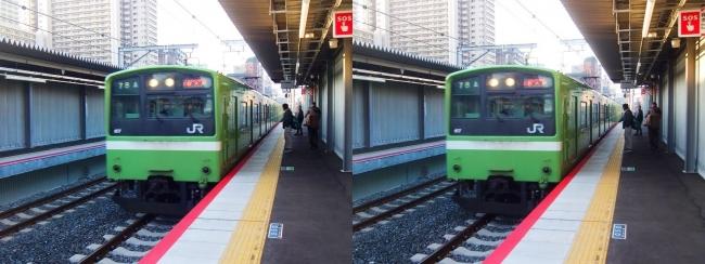 JR野江駅 2019.3.18③(交差法)