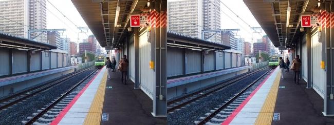 JR野江駅 2019.3.18②(平行法)