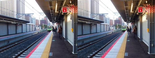 JR野江駅 2019.3.18②(交差法)