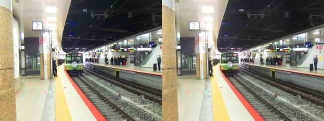 JR新大阪駅 2019.3.16⑨(交差法)