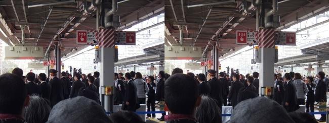 JR新大阪駅 2019.3.16⑧(交差法)