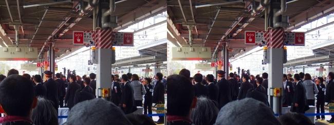 JR新大阪駅 2019.3.16⑧(平行法)
