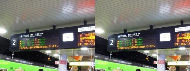 JR新大阪駅 2019.3.16④(平行法)