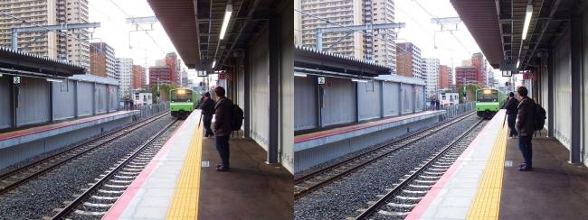 JR野江駅 2019.3.16⑦(平行法)