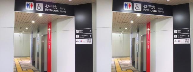 JR野江駅 2019.3.16⑤(平行法)