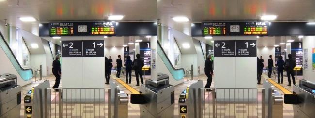 JR野江駅 2019.3.16④(交差法)
