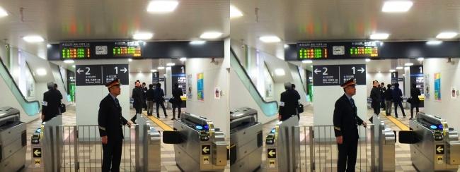 JR野江駅 2019.3.16③(平行法)
