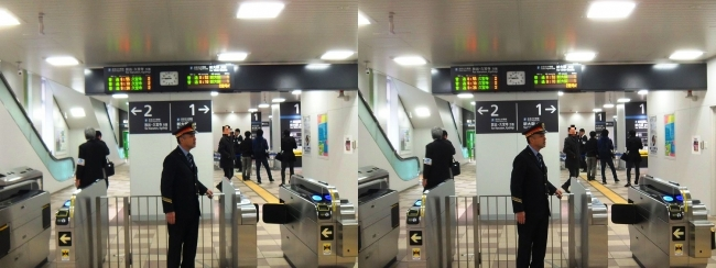 JR野江駅 2019.3.16③(交差法)