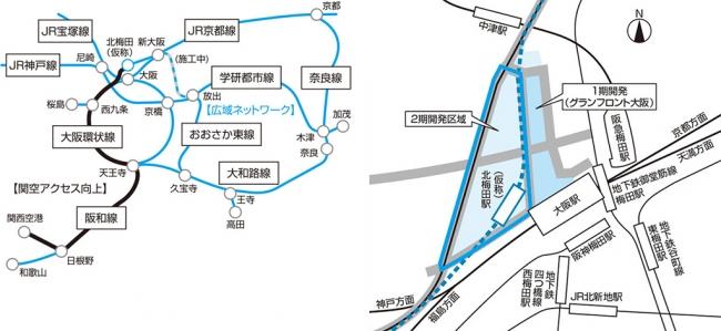 大阪広域ネットワークとうめきたプロジェクト