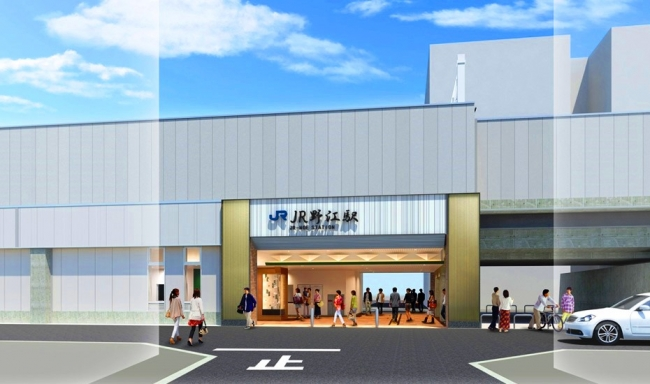 JR野江駅 完成予想イメージ