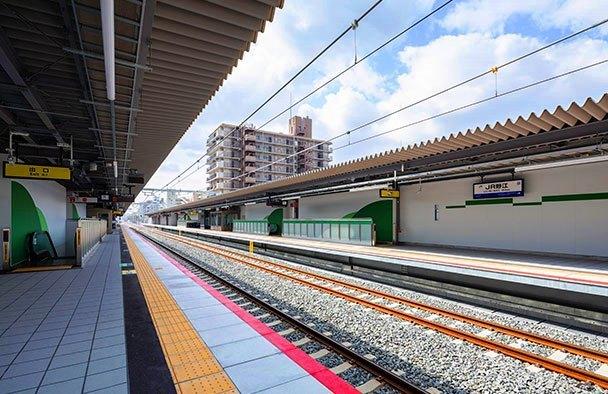 JR野江駅③