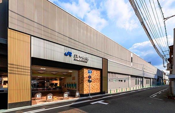 JR野江駅①