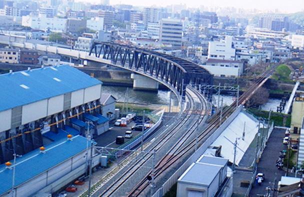 神崎川橋梁