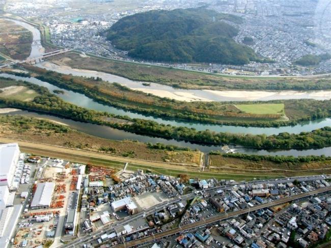 三川合流地点