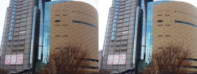 NHK大阪放送局(平行法)