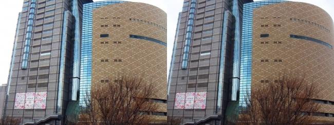 NHK大阪放送局(交差法)