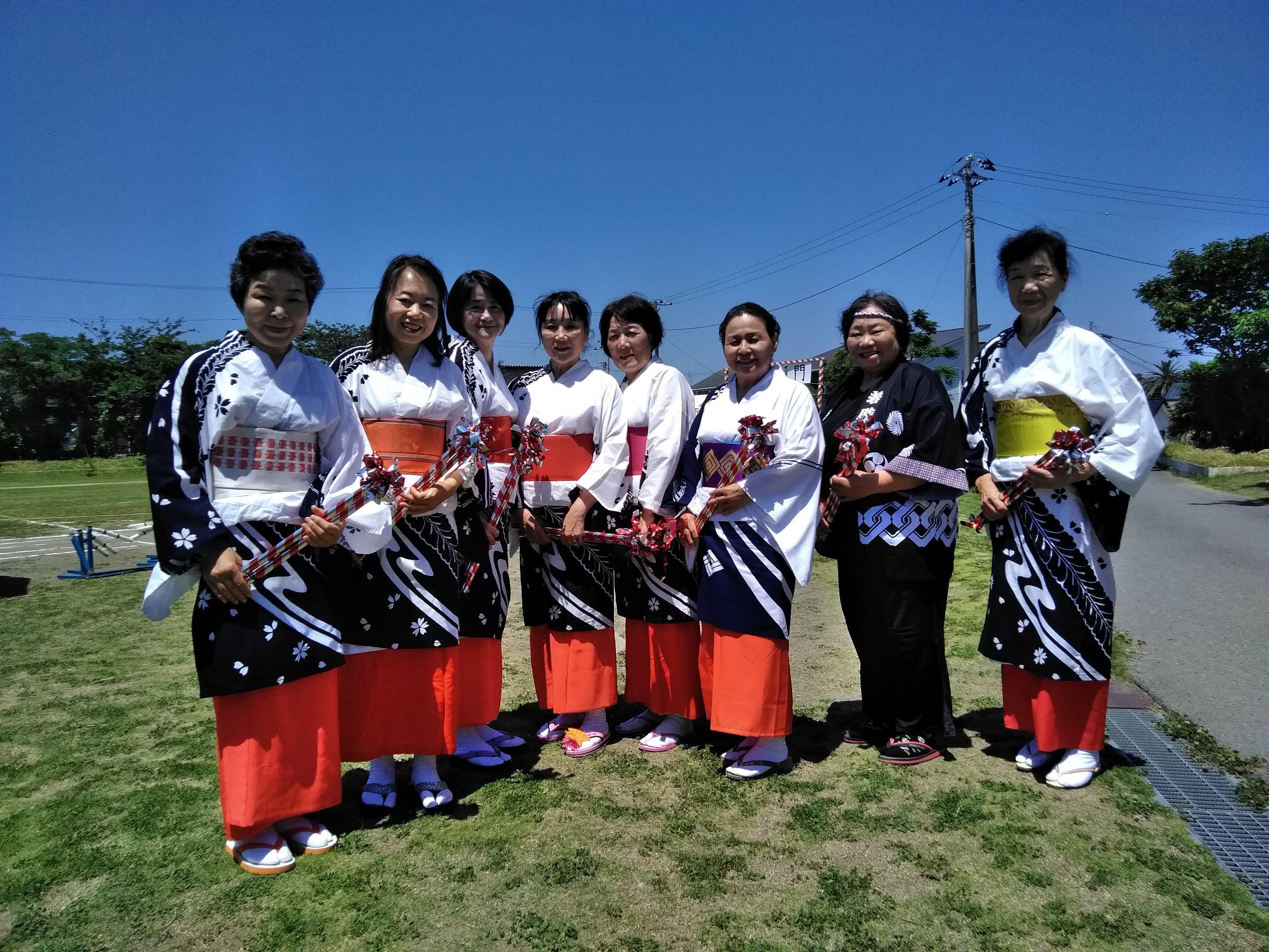 盆踊りメンバー
