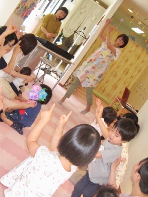 2019年6月リトミック&看護師さんおしえて!!