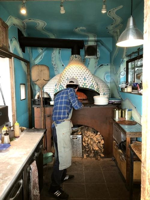 ピッツェリア オーシャン 窯