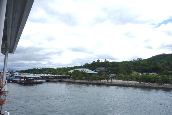 宮島へ10