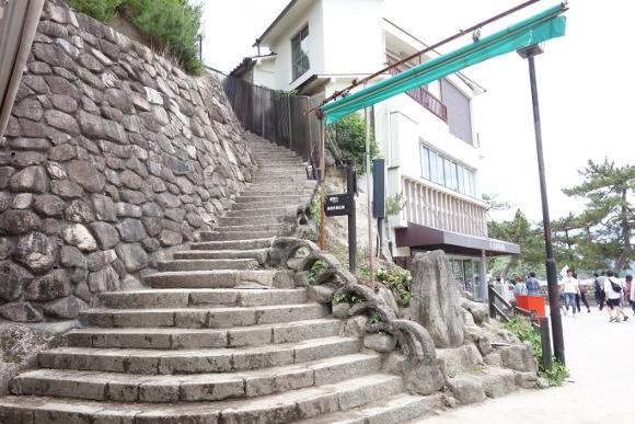 厳島合戦史跡・要害山01