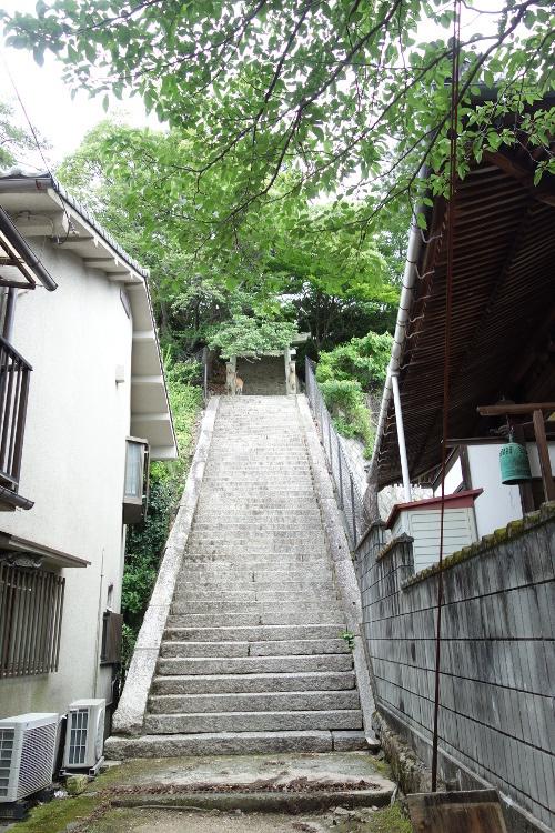 厳島合戦史跡・要害山18