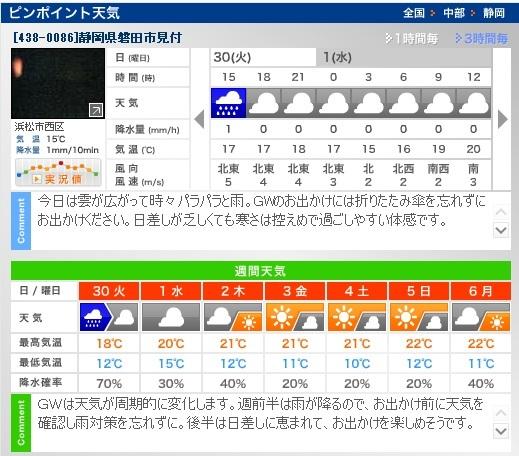 週間天気H310430