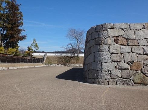 ss赤穂城跡 Rの石垣