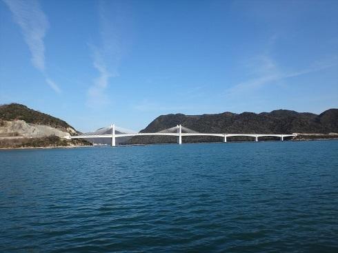 ss備前♡日生大橋 きれいな斜張橋