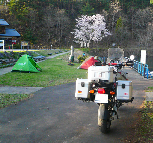北竜湖キャンプ場