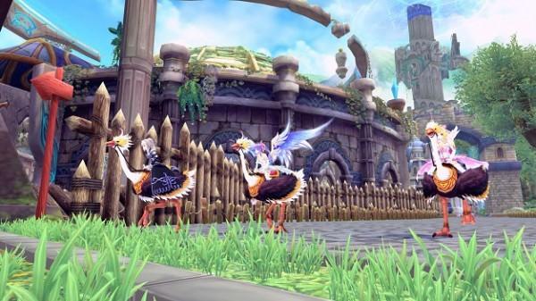 基本プレイ無料のアニメチックファンタジーオンラインゲーム、幻想神域、イベント「BBQチキンフィーバー」を開催したよ