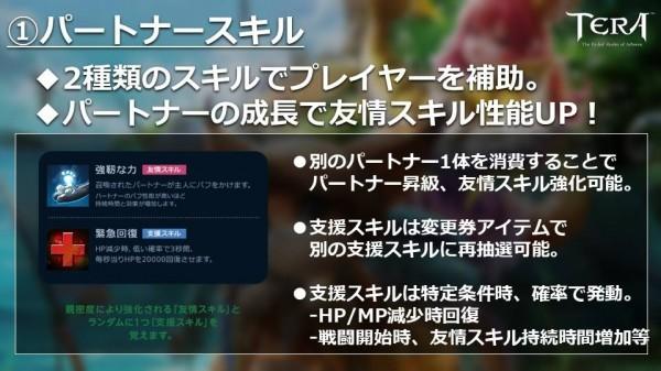 基本プレイ無料のファンタジーMMORPGTERA(テラ)、プレイヤーの相棒「パートナー」の詳細を公開
