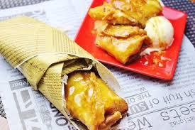 蕎麦粉のクリスピーロール~焼き林檎とクリームチーズ~