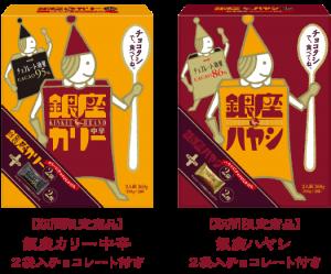 明治 銀座カリー2袋_チョコレート付き